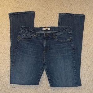Levi's 515 bootcut jeans women's 12L